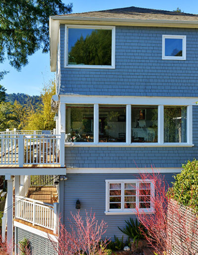 Decks with Glass & Wood Railings, Mill Valley 3