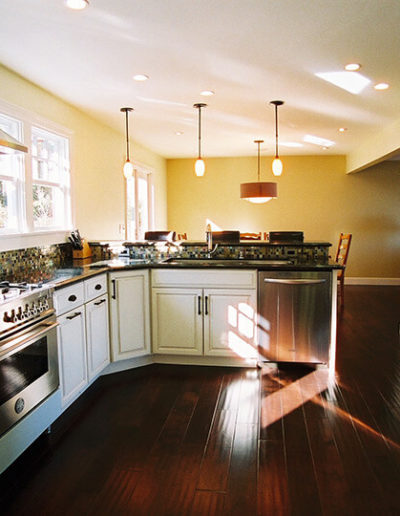 Kitchen, Novato - after 2