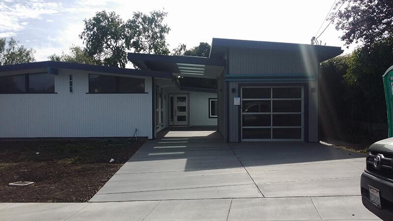 New Breezeway and Garage, San Rafael - after