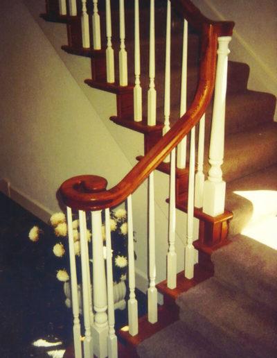 Oak Staircase & Railing, Ignacio