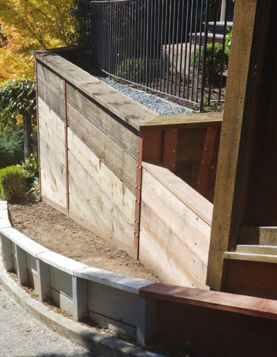 Retaining Wall, Mill Valley 1