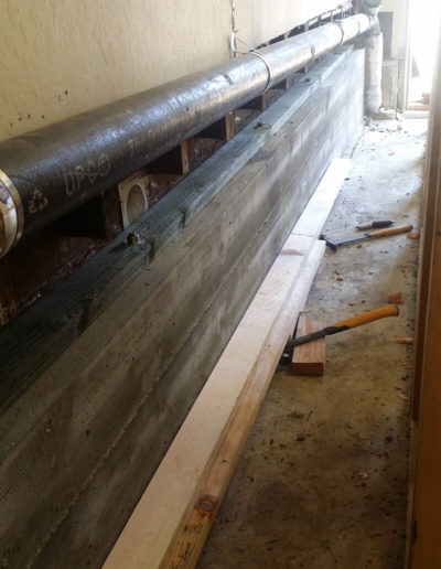 Seismic upgrade, Foundation, Mill Valley 2