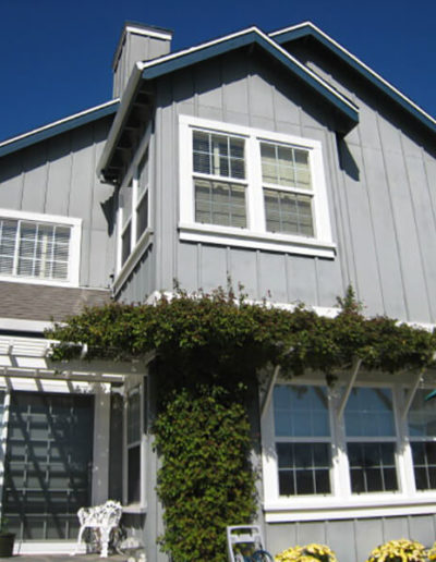 Siding, Windows, Trellis, Greenbrae