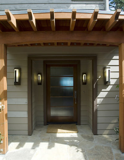 Stone Patio, Entry, Awning, Mill Valley 1